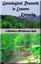 Genealogical Research in Eastern Kentucky cover