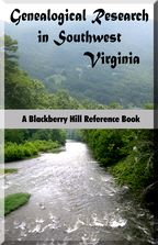 Genealogical Research in Southwest Virginia cover